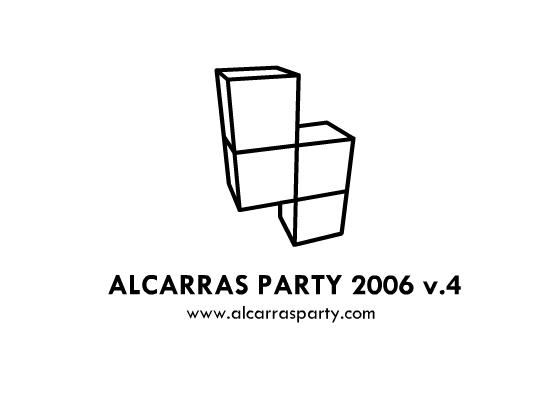Logo AlcarrasParty 2006