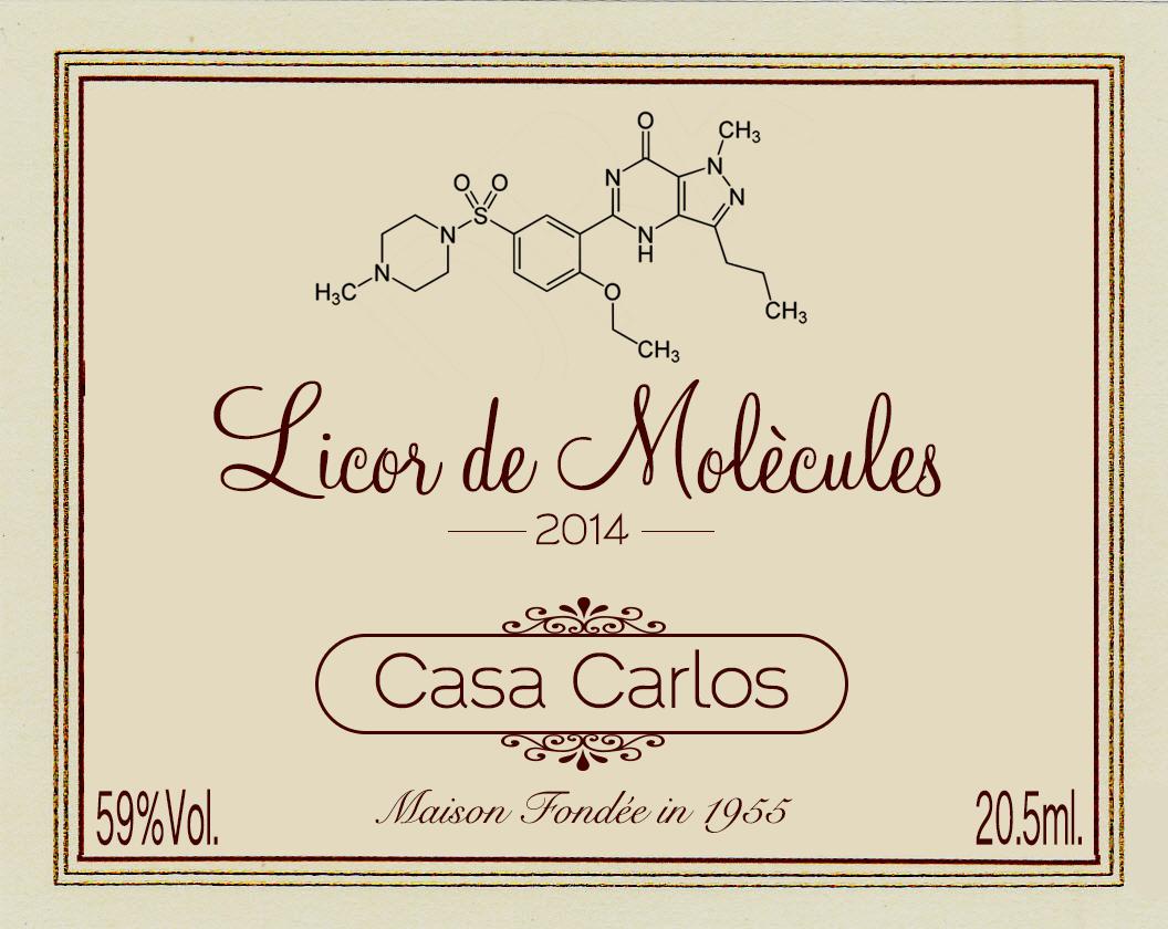 Logo Licor de Moleculas