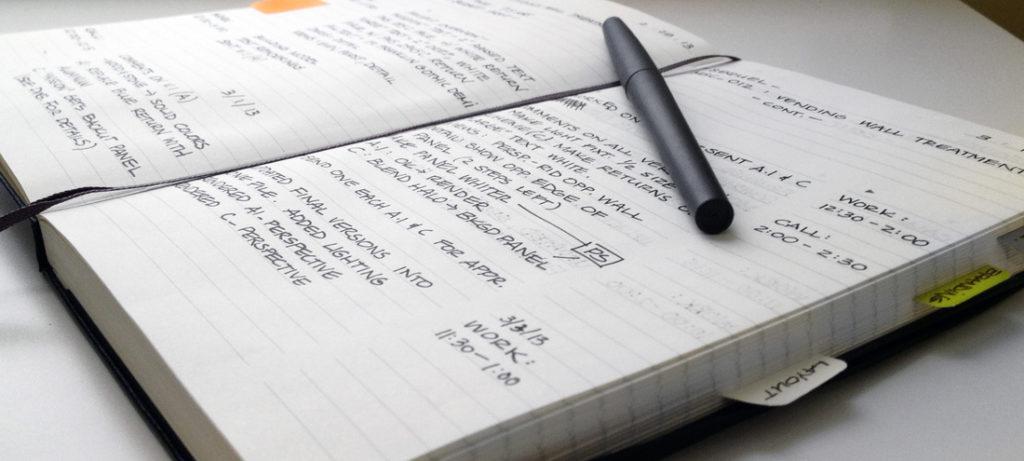 escribir, carles godia, obra